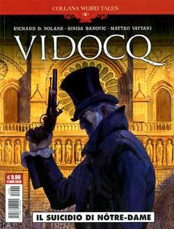 Copertina WEIRD TALES n.38 - VIDOCQ - IL SUICIDIO DI NOTRE-DAME, COSMO EDITORIALE