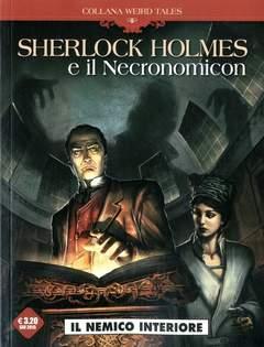 Copertina WEIRD TALES n.6 - SHERLOCK HOLMES E IL NECRONOMICON, COSMO EDITORIALE