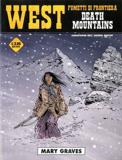 Copertina WEST FUMETTI DI FRONTIERA n.18 - DEATH MOUNTAINS - MARY GRAVES, COSMO EDITORIALE