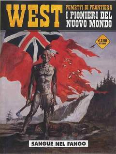 Copertina WEST FUMETTI DI FRONTIERA n.7 - SANGUE NEL FANGO, COSMO EDITORIALE