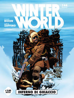 Copertina WINTER WORLD n. - INFERNO DI GHIACCIO, COSMO EDITORIALE