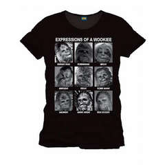 Copertina T-SHIRT n.8 - STAR WARS - TS074 - EXPRESSION OF A WOOKIE S, COTTON DIVISION