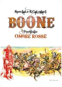 Copertina AVVENTURE DEL WEST (LE) n. - BOONE/OMBRE ROSSE - Cofanetto + 4 Litografie, CRONACA DI TOPOLINIA