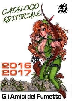 Copertina CATALOGO EDITORIALE n.2 - 2016-2017, CRONACA DI TOPOLINIA