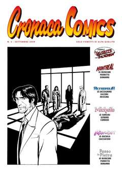 Copertina CRONACA COMICS n.5 - CRONACA COMICS, CRONACA DI TOPOLINIA