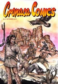 Copertina CRONACA COMICS n.9 - CRONACA COMICS, CRONACA DI TOPOLINIA