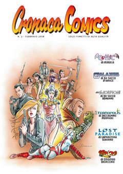 Copertina CRONACA COMICS n.2 - CRONACA COMICS               2, CRONACA DI TOPOLINIA