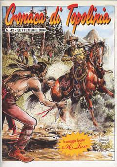 Copertina CRONACA DI TOPOLINIA n.42 - CRONACA DI TOPOLINIA N 42 - COVER DI FERNANDO FUSCO, CRONACA DI TOPOLINIA