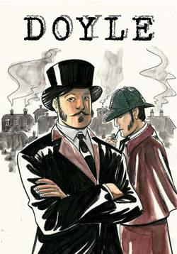 Copertina DOYLE #2 BLANK Cover n.2 - LA STELLA E LA CROCE - Cover a colori, CRONACA DI TOPOLINIA