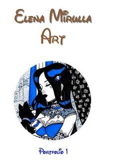 Copertina ELENA MIRULLA ART PORTFOLIO n.0 - ELENA MIRULLA ART, CRONACA DI TOPOLINIA