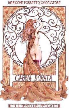 Copertina GABBIA DORATA n.1 - IL SENSO DEL PECCATO, CRONACA DI TOPOLINIA
