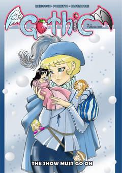 Copertina GOTHIC n.3 - THE SHOW MUST GO  ON, CRONACA DI TOPOLINIA