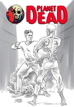 Copertina PLANET DEAD n.2 - CONTAGIO! - Cover a china, CRONACA DI TOPOLINIA