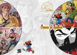 Copertina PORTFOLIO DEL 25ENNALE n.4 - LE COVER STORICHE, CRONACA DI TOPOLINIA