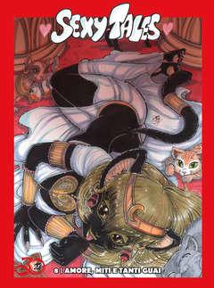 Copertina SEXY TALES Edizione limitata n.8 - AMORE, MITI E TANTI GUAI, CRONACA DI TOPOLINIA