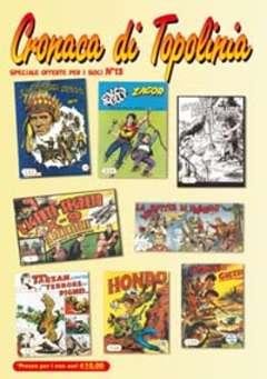 Copertina SPECIALE OFFERTE PER I SOCI n.13 - CATALOGO, CRONACA DI TOPOLINIA
