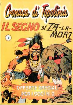 Copertina SPECIALE OFFERTE PER I SOCI n.2 - SPECIALE OFFERTE PER I SOCI, CRONACA DI TOPOLINIA