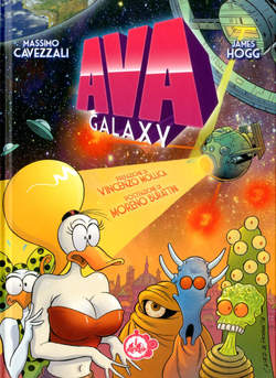 Copertina AVA GALAXY n. - AVA - GALAXY, CUT UP PUBLISHING