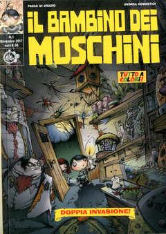 Copertina BAMBINO DEI MOSCHINI (m3) n.1  - DOPPIA INVASIONE, CUT UP PUBLISHING