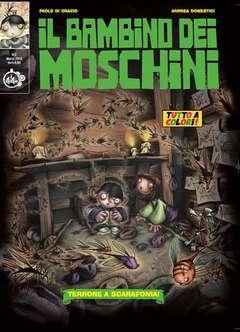 Copertina BAMBINO DEI MOSCHINI (m3) n.2 - TERRORE A SCARAFONIA!, CUT UP PUBLISHING