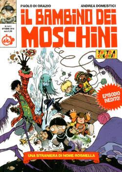 Copertina BAMBINO DEI MOSCHINI (m3) n.3 - UNA STRANIERA DI NOME ROSMELLA, CUT UP PUBLISHING