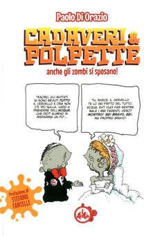 Copertina CADAVERI & POLPETTE n. - ANCHE GLI ZOMBI SI SPOSANO!, CUT UP PUBLISHING