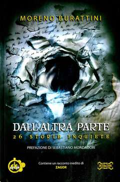 Copertina DALL'ALTRA PARTE n. - DALL'ALTRA PARTE: 26 STORIE INQUIETE, CUT UP PUBLISHING