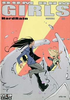 Copertina DUM DUM GIRLS n.3 - HARD RAIN, CUT UP PUBLISHING