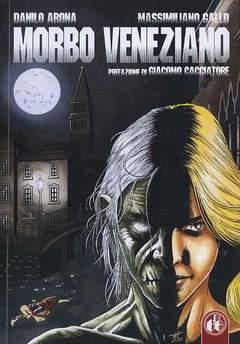 Copertina MORBO VENEZIANO n. - MORBO VENEZIANO, CUT UP PUBLISHING