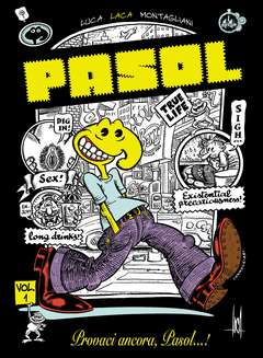 Copertina PASOL n.1 - PROVACI ANCORA PASOL!, CUT UP PUBLISHING