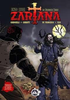 "Copertina ZARTANA - Edizione ""Cover Enzo Rizzi"" n. - LO STREGONE BLUES, CUT UP PUBLISHING"