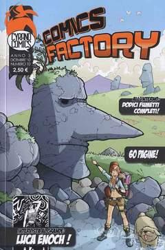 Copertina COMICS FACTORY n.10 - COMICS FACTORY, CYRANO COMICS