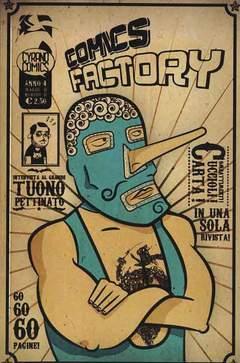 Copertina COMICS FACTORY n.11 - COMICS FACTORY, CYRANO COMICS