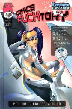 Copertina COMICS FACTORY #14 Riedizione n.0 - COMICS FUCKTORY, CYRANO COMICS