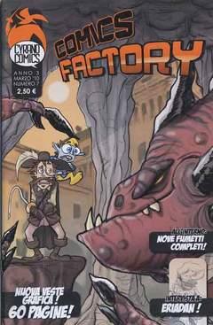 Copertina COMICS FACTORY n.7 - COMICS FACTORY, CYRANO COMICS