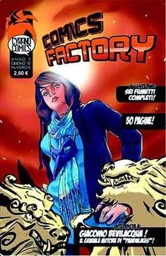 Copertina COMICS FACTORY n.8 - COMICS FACTORY, CYRANO COMICS
