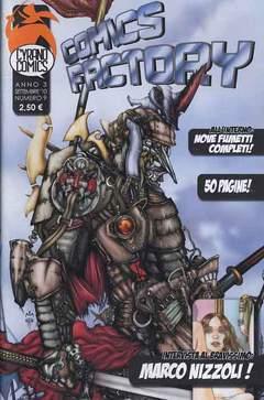 Copertina COMICS FACTORY n.9 - COMICS FACTORY, CYRANO COMICS