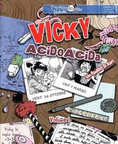 Copertina CYRANO COMICS PRESENTA n.1 - VICKY ACIDO ACIDA (m3) 1, CYRANO COMICS