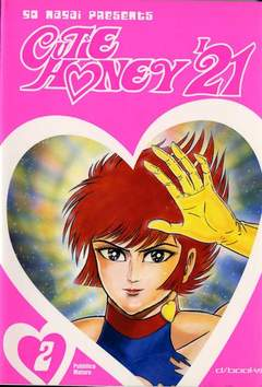 Copertina CUTEY HONEY 21 (m9) n.2 - CUTEY HONEY 21 (m9)          2, D-VISUAL