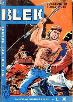 Copertina ALBI DEL GRANDE BLEK n.12 - ALBI DEL GRANDE BLEK        12, DARDO EDITORE