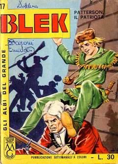 Copertina ALBI DEL GRANDE BLEK n.17 - ALBI DEL GRANDE BLEK        17, DARDO EDITORE