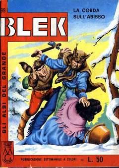 Copertina ALBI DEL GRANDE BLEK n.99 - ALBI DEL GRANDE BLEK        99, DARDO EDITORE