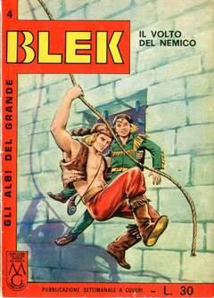 Copertina ALBI DEL GRANDE BLEK n.4 - ALBI DEL GRANDE BLEK         4, DARDO EDITORE