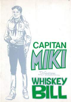 Copertina CAPITAN MIKI WHISKEY BILL n. - CAPITAN MIKI - WHISKEY BILL, DARDO EDITORE