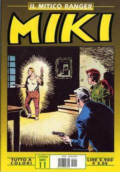 Copertina MIKI MITICO RANGER A COLORI n.11 - MIKI MITICO RANGER A COLO   11, DARDO EDITORE