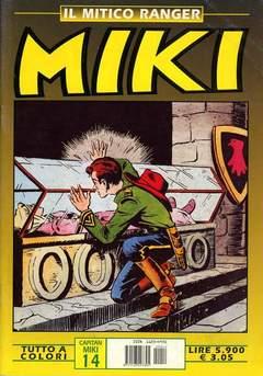 Copertina MIKI MITICO RANGER A COLORI n.14 - MIKI MITICO RANGER A COLO   14, DARDO EDITORE