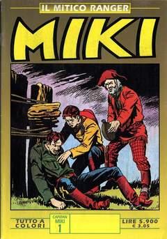 Copertina MIKI MITICO RANGER A COLORI n.1 - MIKI MITICO RANGER A COLO    1, DARDO EDITORE