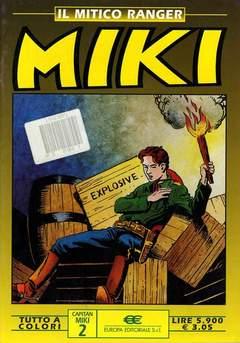Copertina MIKI MITICO RANGER A COLORI n.2 - MIKI MITICO RANGER A COLO    2, DARDO EDITORE