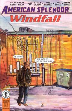 Copertina AMERICAN SPLENDOR WINDFALL M2 n.2 - AMERICAN SPLENDOR WINDFAL    2, DARK HORSE COMICS