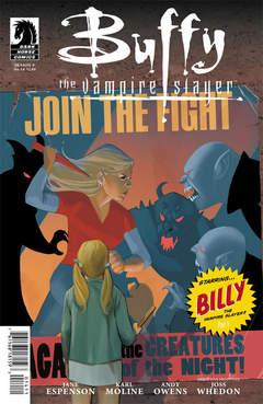 Copertina BUFFY SEASON 9 n.14 - Billy the Vampire Slayer Part One, DARK HORSE COMICS